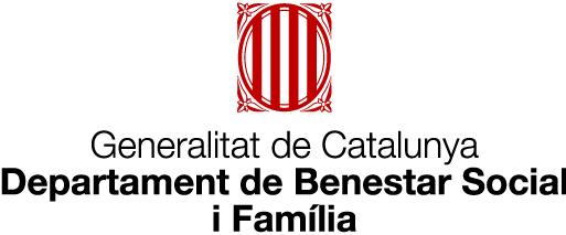 logotipo de la Generalitat de Catalunya en el Benestar Social i Família para ejercer ayudas a domicilio