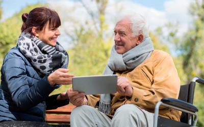 La asistencia a domicilio y la tecnología en la tercera edad